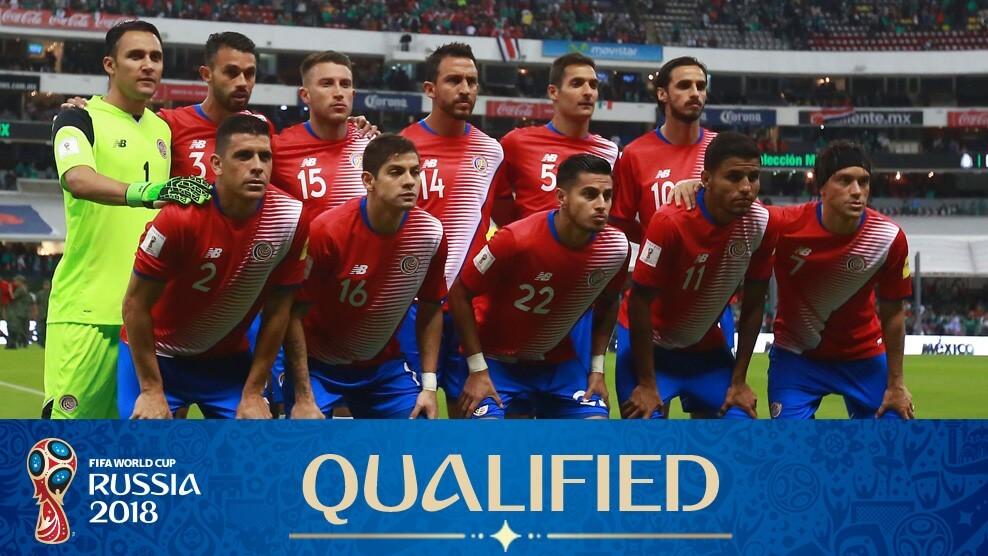 Сборная Коста-Рики на чемпионате мира по футболу 2018 год
