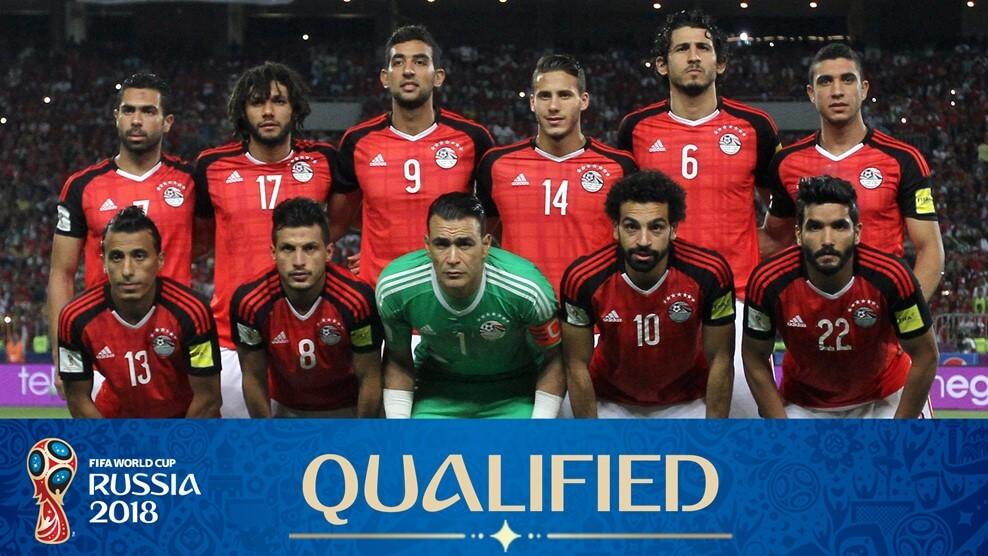 Сборная Египта на чемпионате мира по футболу 2018 года