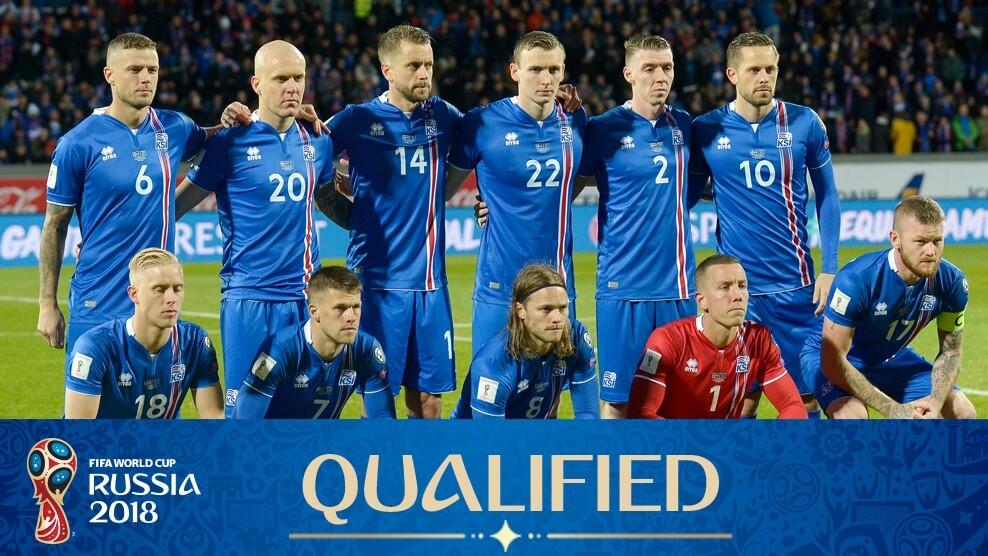 Сборная Исландии на чемпионате мира по футболу 2018 год