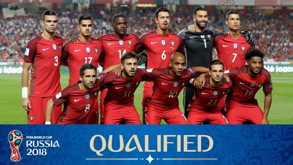 Сборная Португалии на чемпионате мира по футболу 2018 года