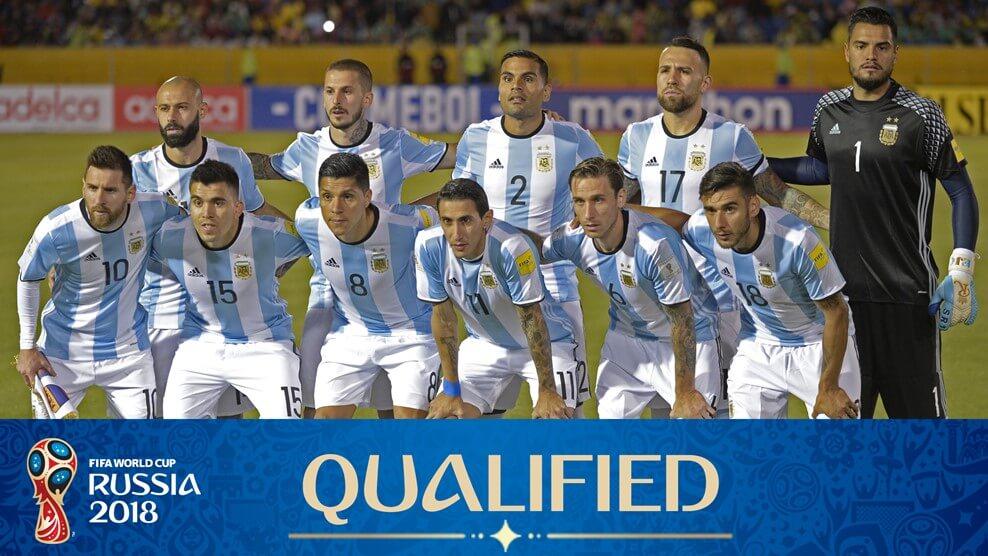 Сборная Аргентина на чемпионате мира по футболу 2018 год