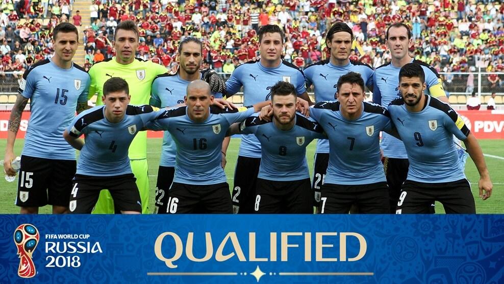 Сборная Уругвая на чемпионате мира по футболу 2018 года
