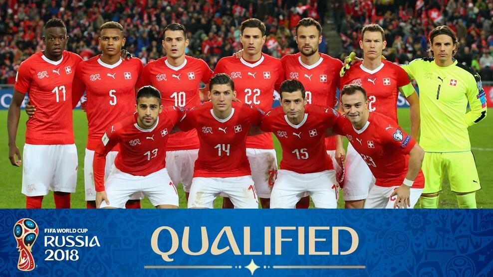 Сборная Швейцария на чемпионате мира по футболу 2018 год