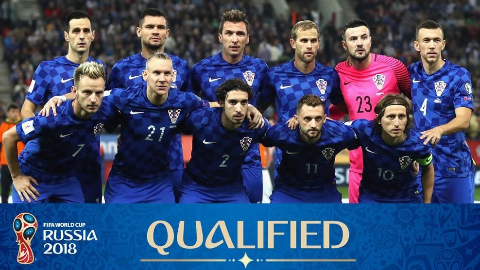 Сборная Хорватии на чемпионате мира по футболу 2018 года