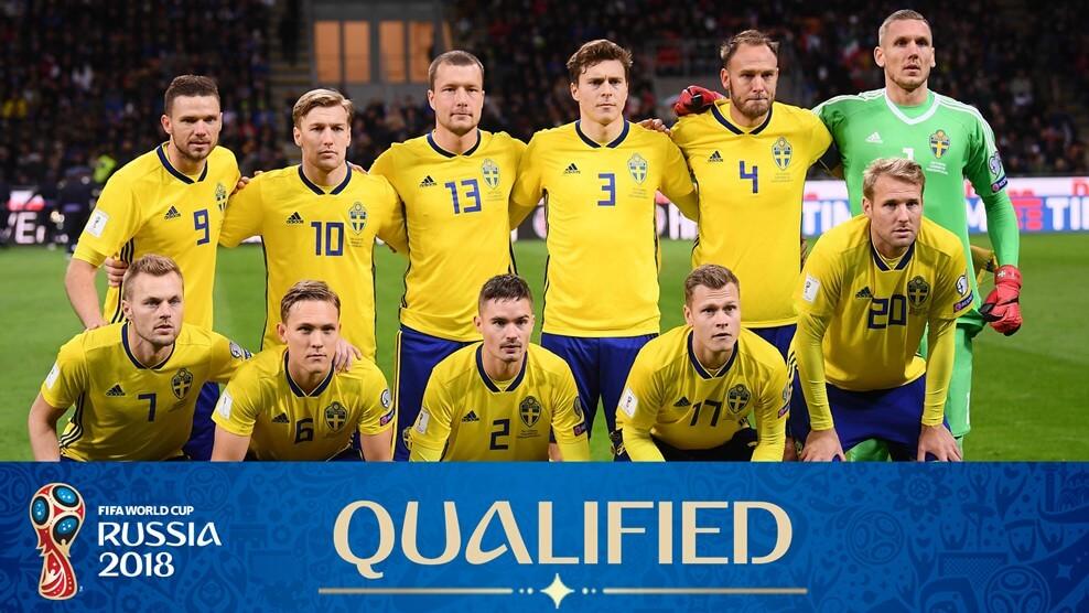 Сборная Швеции на чемпионате мира по футболу 2018 год