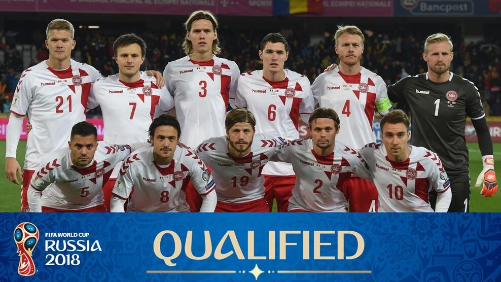 Сборная Дании на чемпионате мира по футболу 2018 год