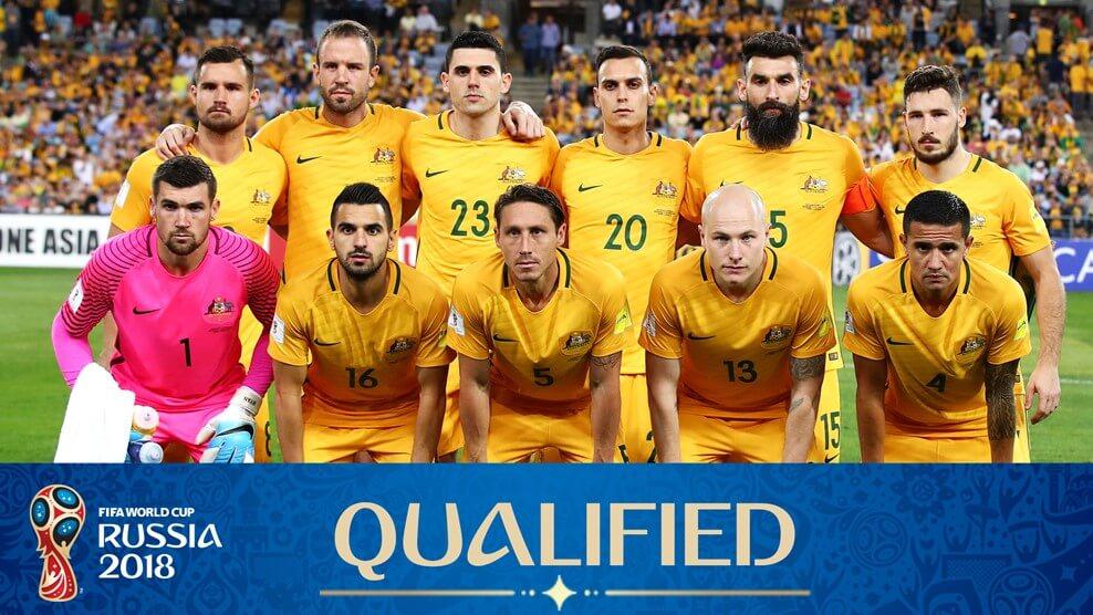 Сборная Австралии на чемпионате мира по футболу 2018 года