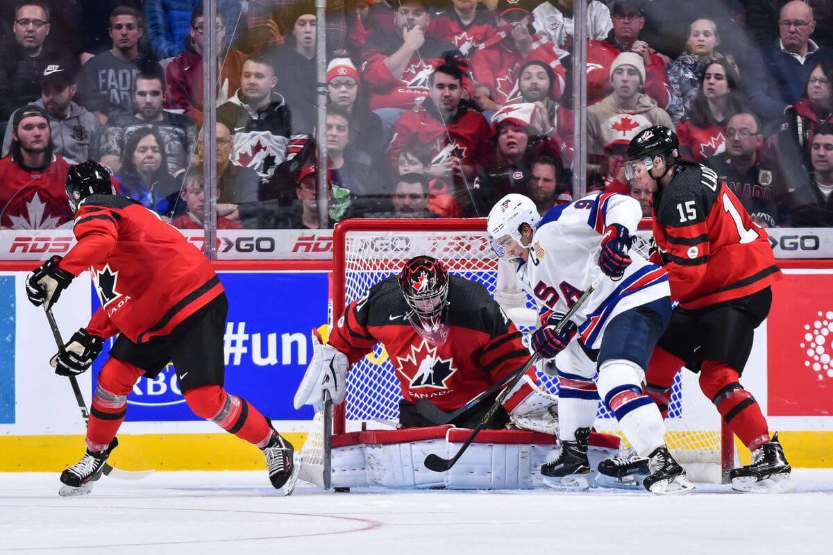 США - Канада чемпионат мира по хоккею 2018