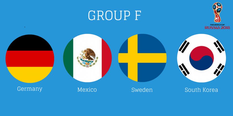 Состав группы F на чемпионате мира по футболу 2018 года