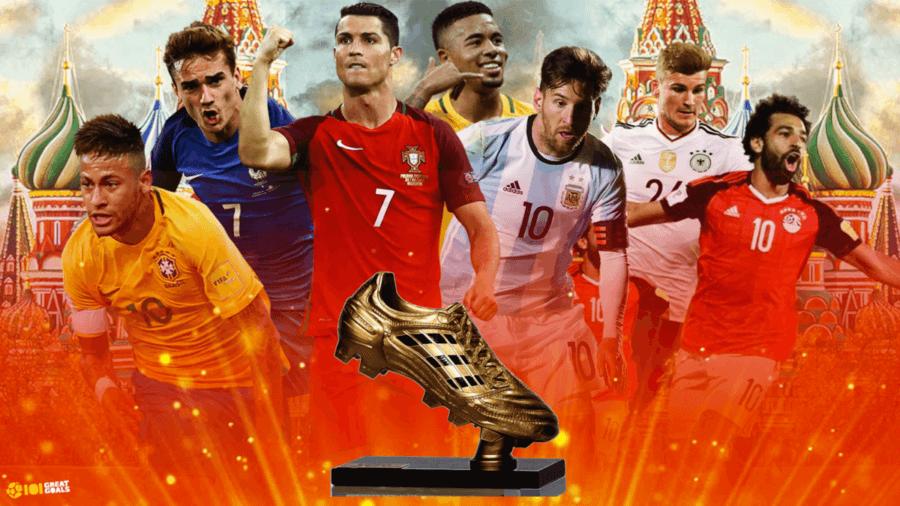 Претенденты на звание лучшего бомбардира чемпионата мира по футболу 2018 года.