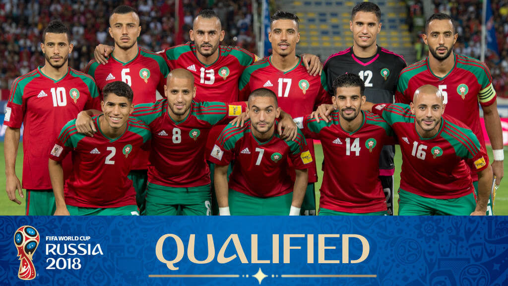 Сборная Марокко на чемпионате мира по футболу 2018 года