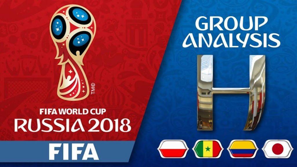 Состав группы H на чемпионате мира по футболу 2018 года