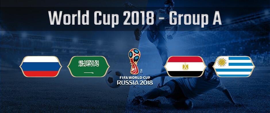 Состав группы А на чемпионате мира по футболу 2018
