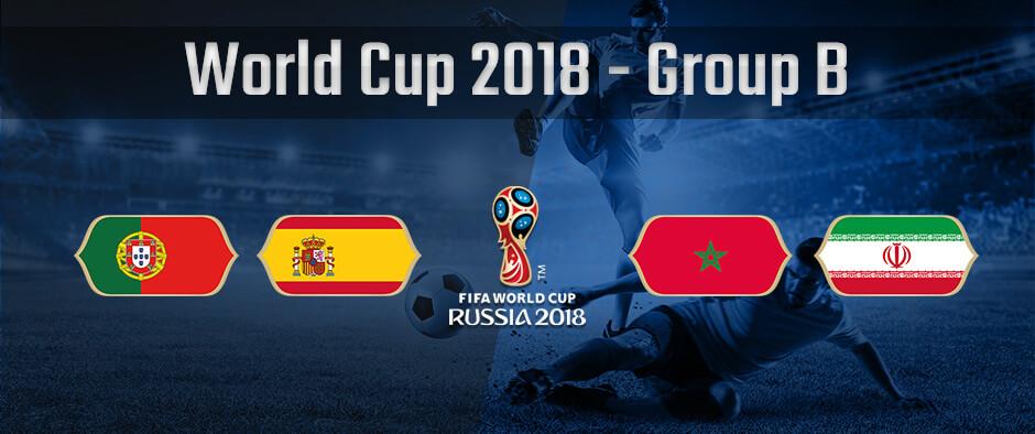 Состав группы B на чемпионате мира по футболу 2018 года