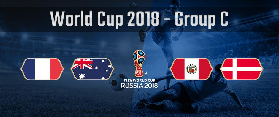 Состав группы С на чемпионате мира по футболу 2018 года