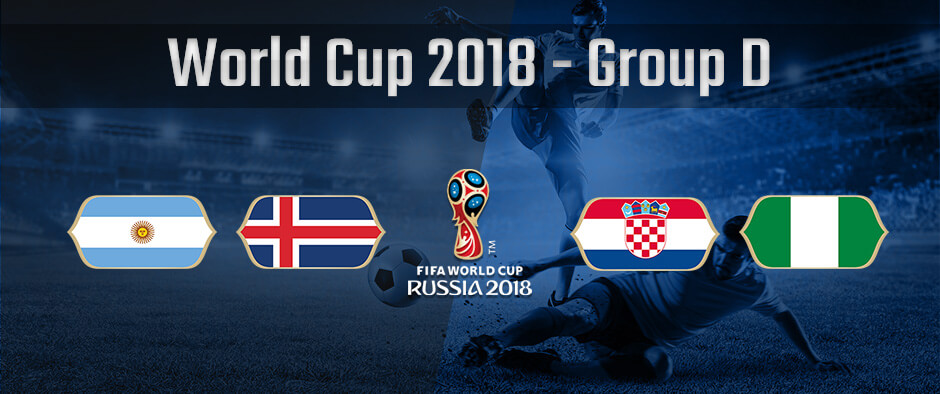 Состав группы D на чемпионате мира по футболу 2018 года
