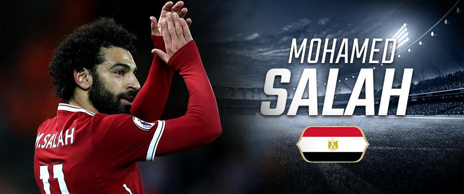 МО Салах на чемпионате мира по футболу 2018 года