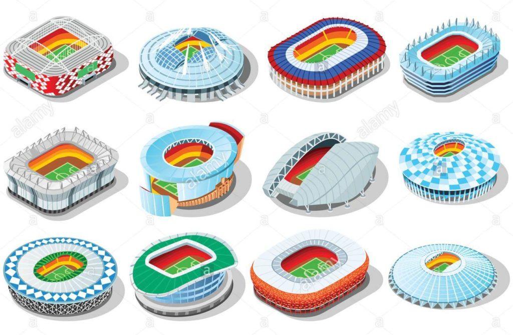 Стадионы чемпионата мира по футболу 2018 года в России