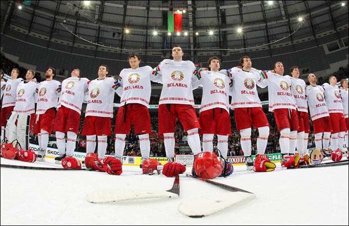 Сборная Белоруссии на чемпионате мира по хоккею 2018 года