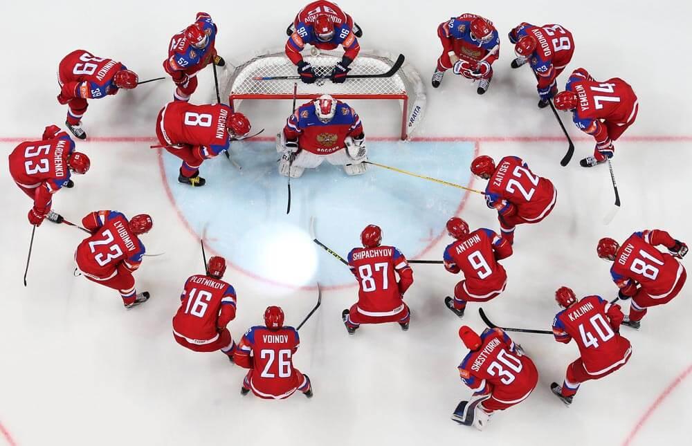 Сборная России по хоккею на чемпионате мира в Дании 2018 года