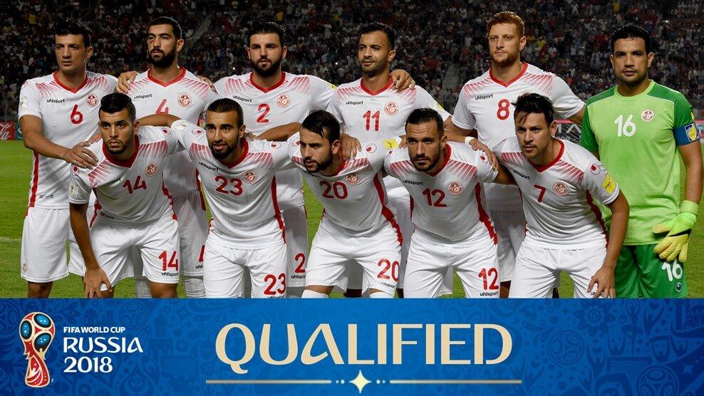 Сборная Туниса на чемпионате мира по футболу 2018 год