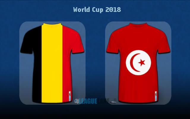 Бельгия — Тунис 23 июня 2018 года чемпионат мира