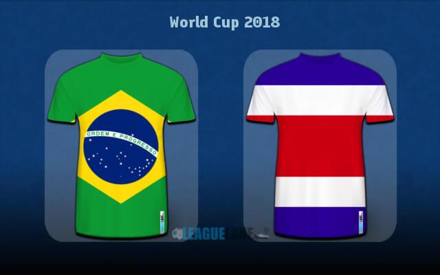Бразилия — Коста-Рика 22 июня 2018 чемпионат мира