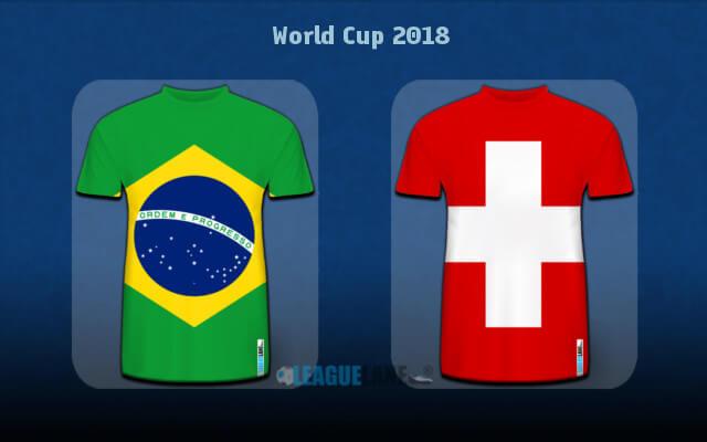 Анонс Бразилия — Швейцария 17 июня 2018 года