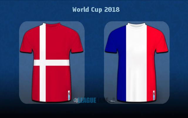 Франция - Дания 26 июня 2018