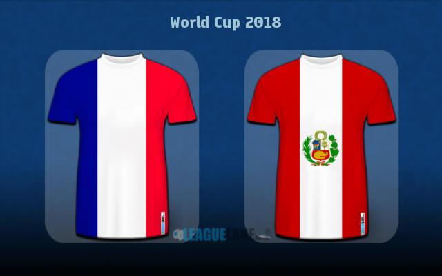 Превью матча Франция — Перу 21 июня 2018 года