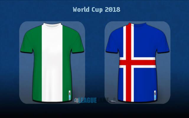 Исландия — Нигерия 22 июня 2018 чемпионат мира