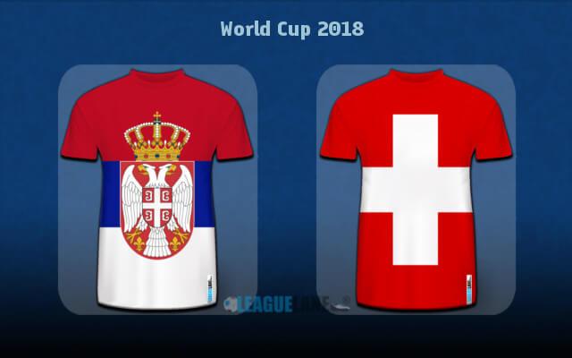 Швейцария — Сербия 22 июня 2018 года чемпионат мира