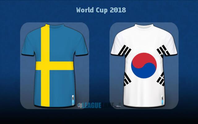 Игра Швеция — Южная Корея 18 июня 2018 анонс