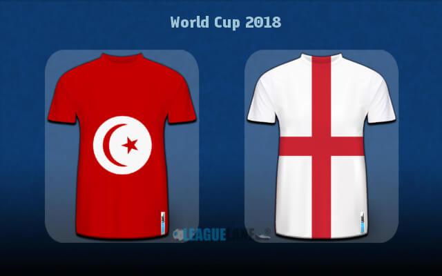 Англия — Тунис 18 июня 2018 года