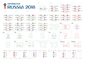 Календарь чемпионата мира по футболу на русском языке