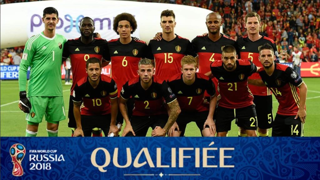 Сборная Бельгии на чемпионате мира по футболу 2018 год