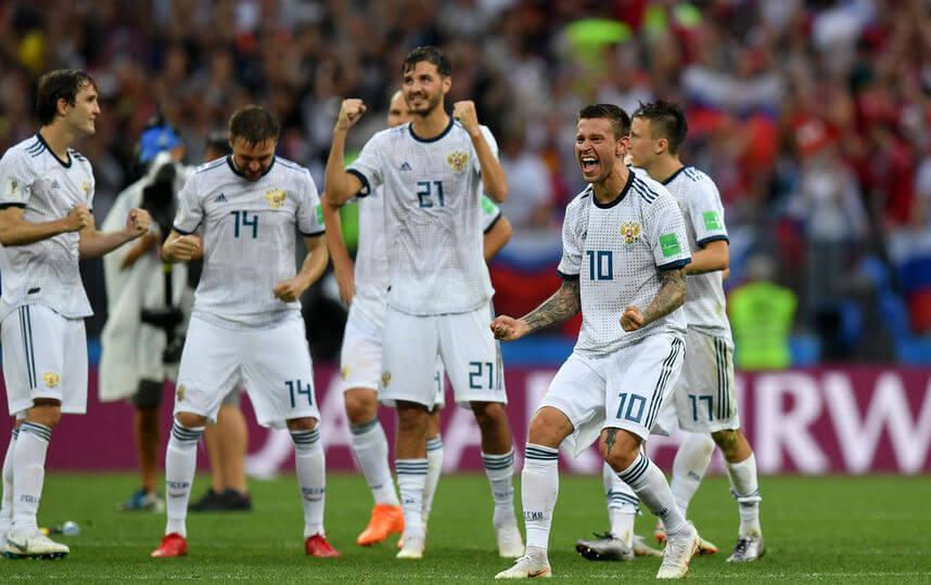 сборная России по футболу заняла 5-8 место на чемпионате мира