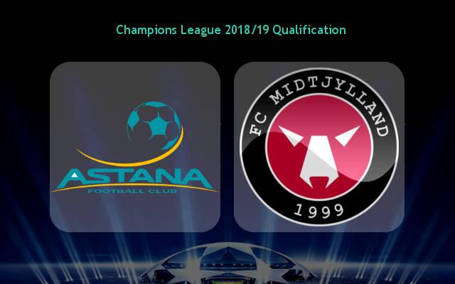 Астана ФК — Мидтьюланд 24 июля 2018 года прогноз на игру ЛЧ