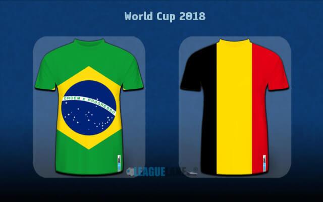 Бразилия — Бельгия 6 июля прогноз матча чемпионата мира по футболу-2018