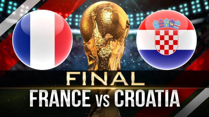 Франция — Хорватия 15 июля 2018