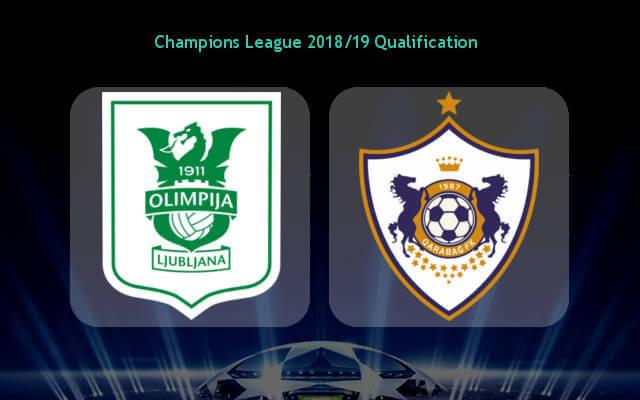 Олимпия Любляна — Карабах 11 июля 2018 превью матча ЛЧ