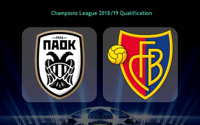 ПАОК — Базель 24 июля 2018 года прогноз игры Лиги чЕМПИОНОВ уефа