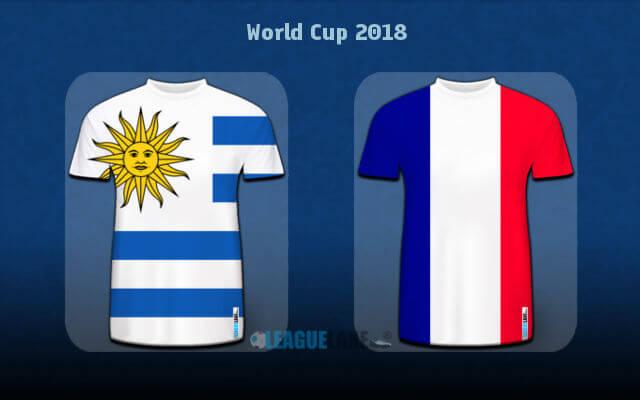 Предматчевый обзор 1/4 финала Уругвай — Франция 6 июля