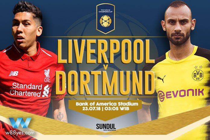 Ливерпуль — Боруссия Дортмунд 22 июля 2018