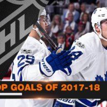 Лучшие голы НХЛ за сезон 2017-2018