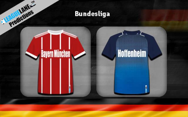 Бавария — Хоффенхайм 2018 24 августа прогноз на игру