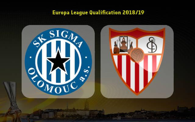 прогноз игры Сигма Оломоуц — Севилья 23 августа 2018 лига европы