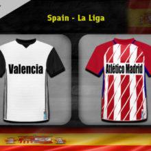 Прогноз матча Валенсия — Атлетико Мадрид 20 августа