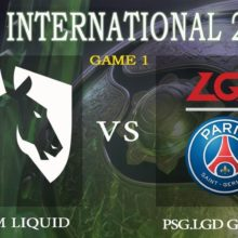 Прогноз матча Team Liquid — PSG.LGD 23 августа