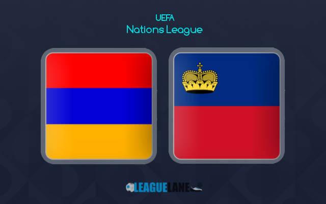 Армения — Лихтенштейн 6 сентября 2018